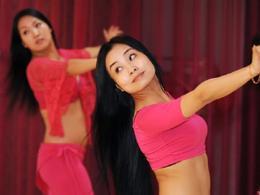 肚皮舞这样跳竟然可以瘦腰