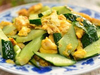教给你正确的黄瓜鸡蛋减肥法