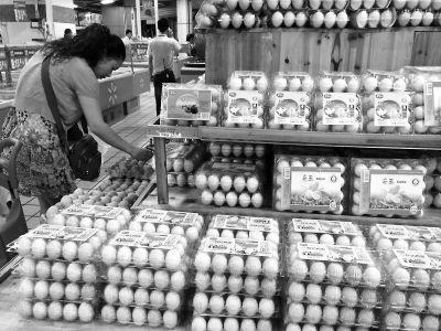 沃尔玛等多处销售的鸡蛋检出抗生素氟苯尼考